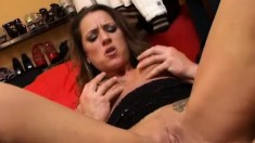 Tanja Is One Hell Of A Woman Letting Him Fuck Any Hole He Wants To