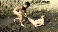 Diane likes to root around in the mud and get a dirty dick in her