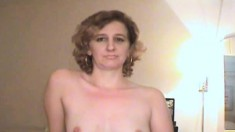 Lovely Blonde Hooker Peels Off Her Clothes And Reveals Her Oral Skills