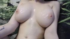 Busty Amateur Girlfriend Titjob With Cumshot