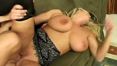 Busty Blonde Rachel Love Sucks And Fucks