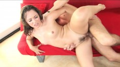 Kristina Rose can't wait for her boyfriend to thrust his cock inside her