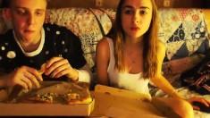 Very hot Brunette teen on her webcam