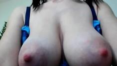 Cute Teen Shows Boobs On Webcam Labia P