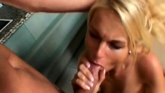 PublicAgent HD Big boobs blonde fucking a big cock