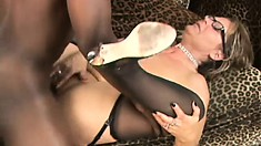 Kelly Leigh is a blonde milf with a passion for black cock and anal sex