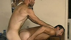 Handsome humpy dude likes getting his tight ass fingered and screwed